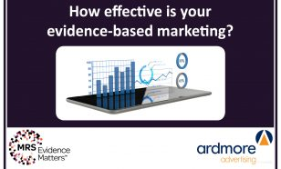 Evidence based marketing event